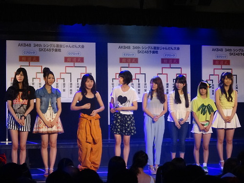 Winners of SKE48 Group A