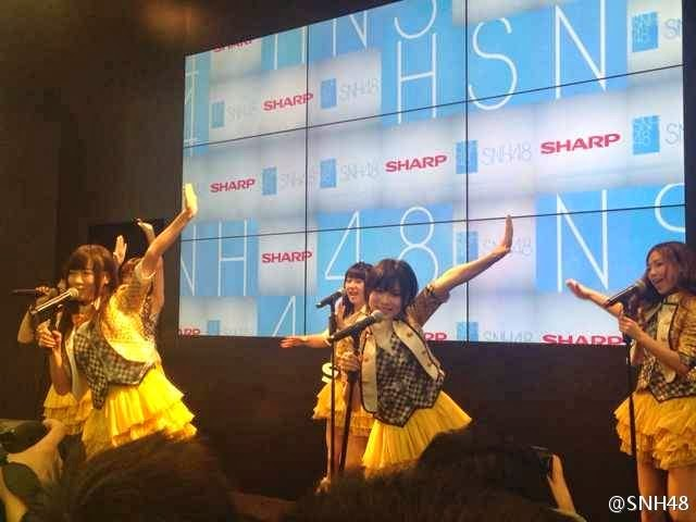 SNH48 Performance SHARP World Expo