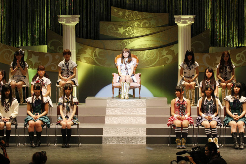 AKB48 Oshima Yuko placing first on AKB48 2nd Senbatsu Sousenkyo