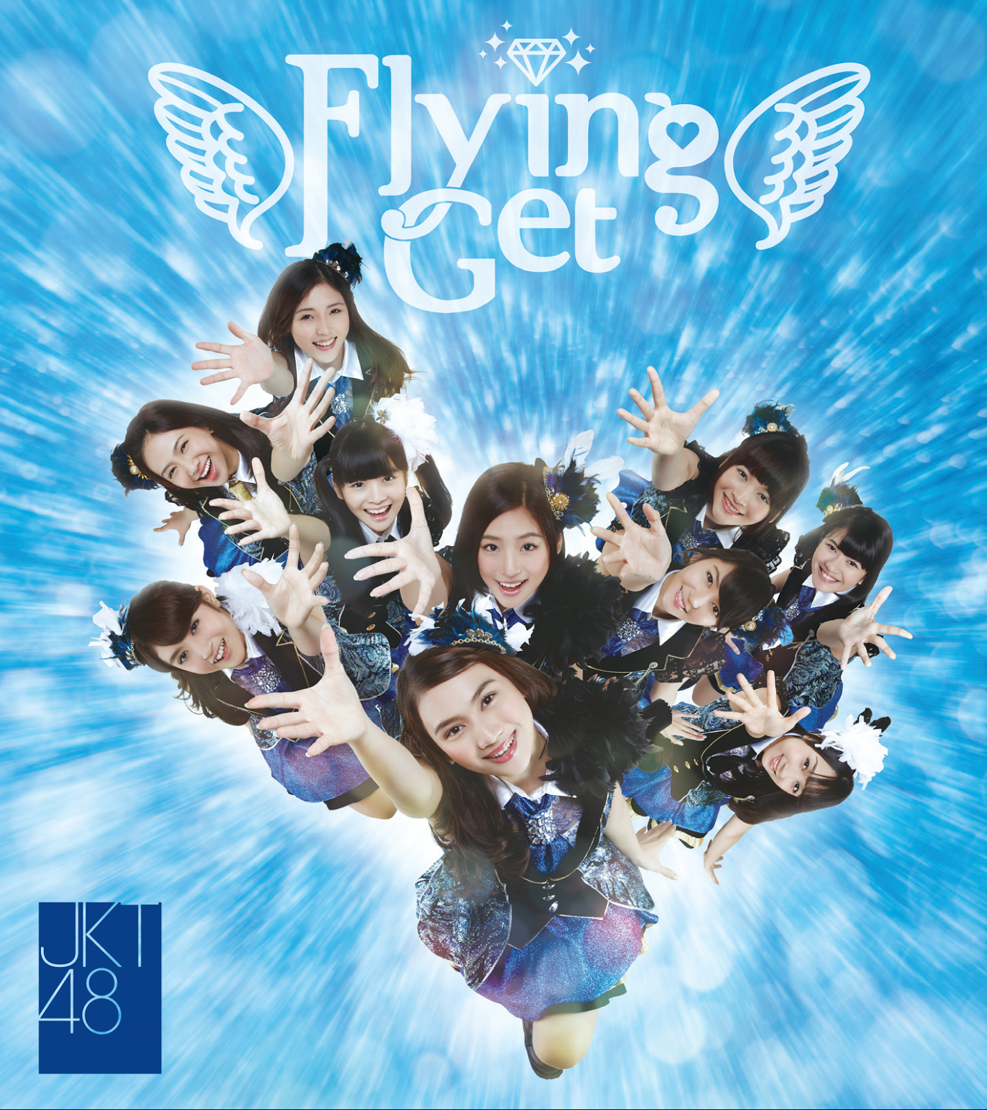 JKT48 5th Single - Flying Get cover Type Alfa