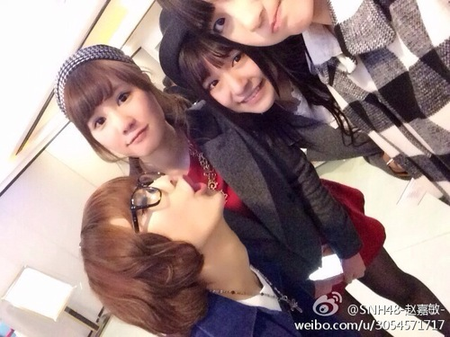 SaeYannu visited SNH48 Cafe