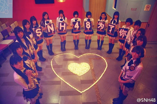 SNH48 Members prayed for missing MH370