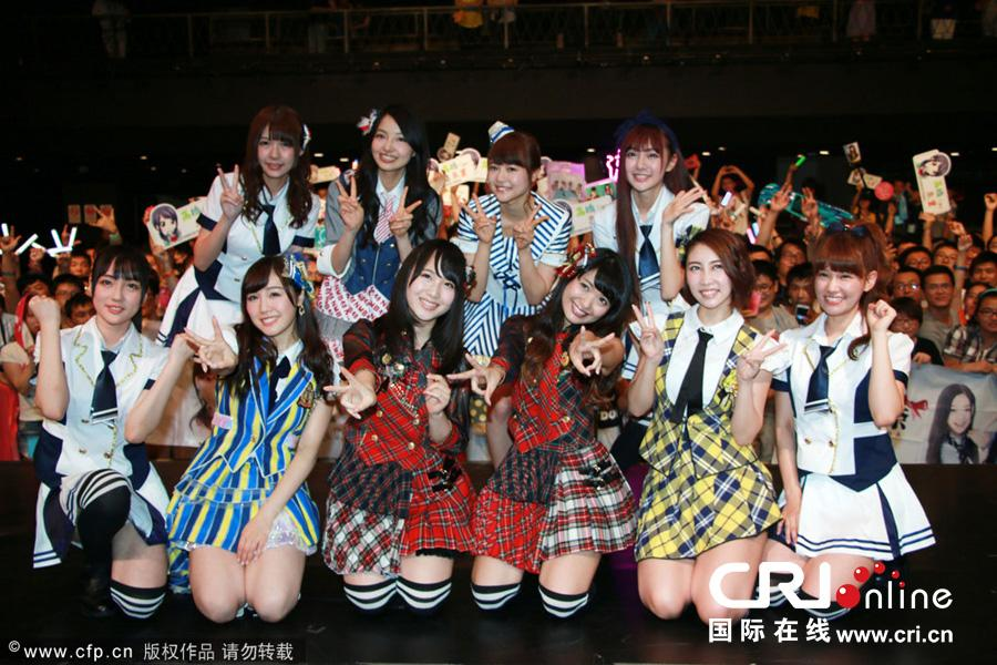 Chikano Rina attended 'ANA x AKB48 Challenge for Asia' Event in Shanghai