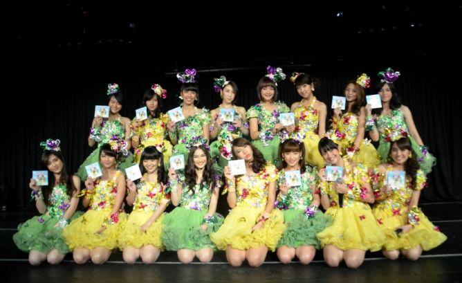 JKT48 Kokoro no Placard - Papan Penanda Isi Hati - Senbatsu Members