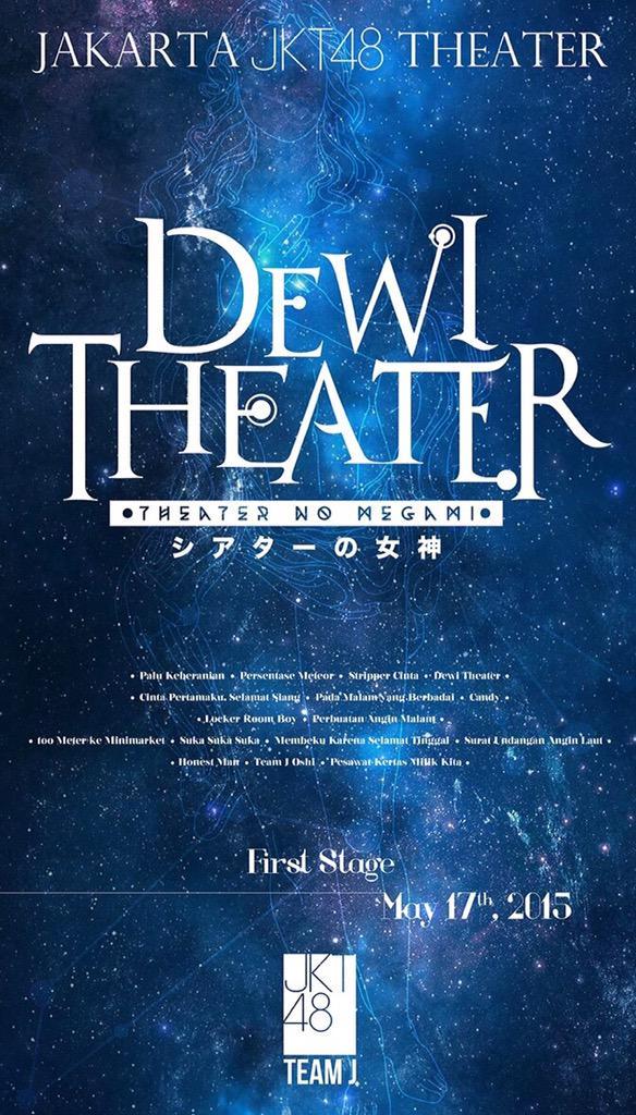 JKT48 Team J New Setlist Shonichi - Theatre no Megami