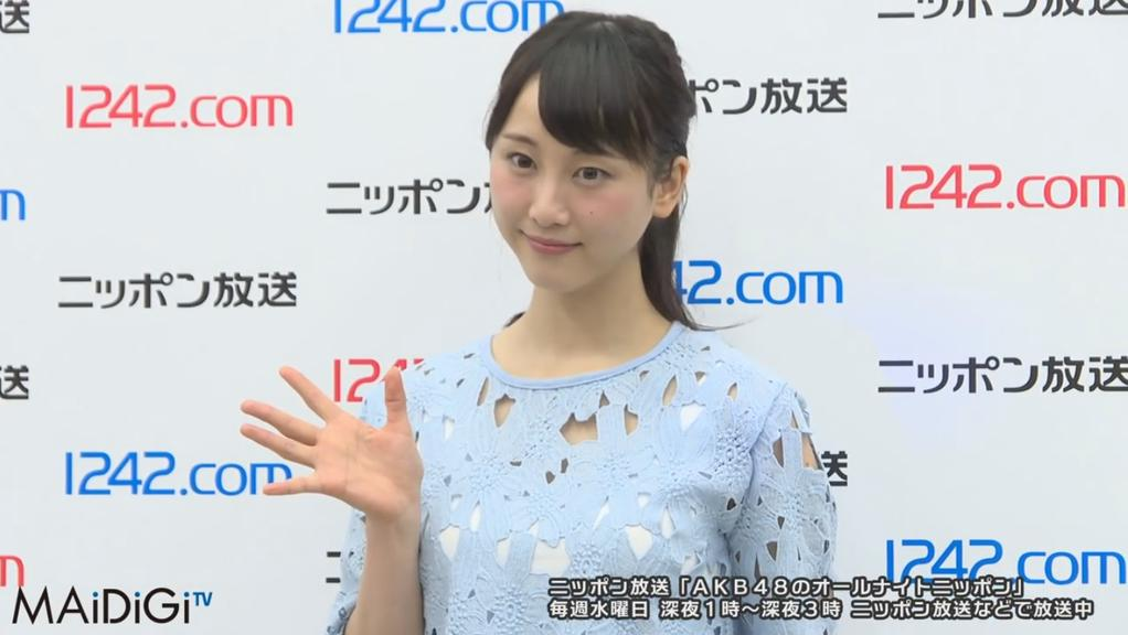 SKE48 Matsui Rena announces her graduation from the group