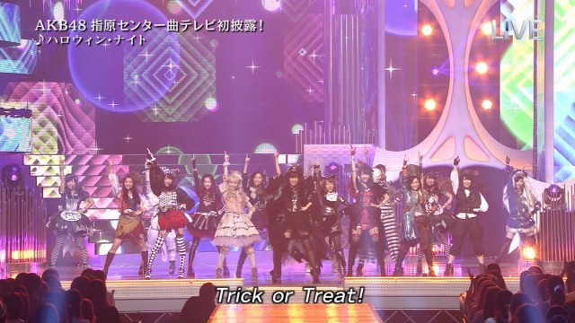 akb48 trick or treat