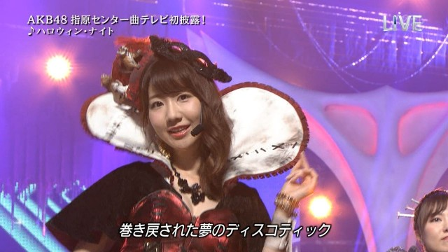 kashiwagi yuki halloween night 41st single akb48