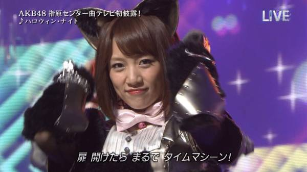 takahashi minami halloween night 41st single